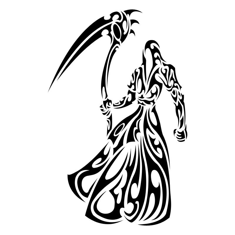 800x800 Grim Reaper Clipart