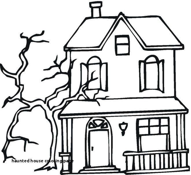 660x606 haunted house coloring pages new haunted house coloring