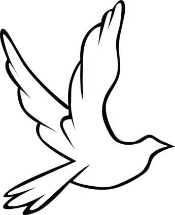 345x425 simple bird drawing bird flying drawing simple bird drawing