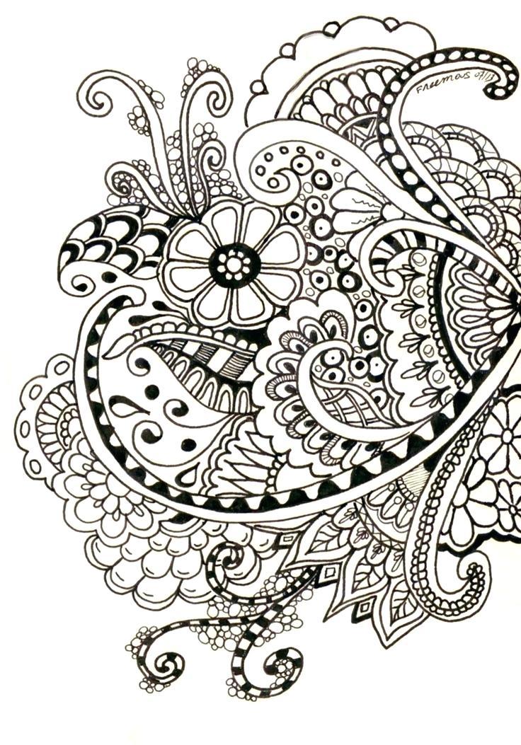 736x1053 flower designs to draw best flower outline ideas flower design