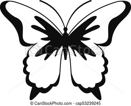 450x366 insect butterfly icon, simple style insect butterfly icon simple