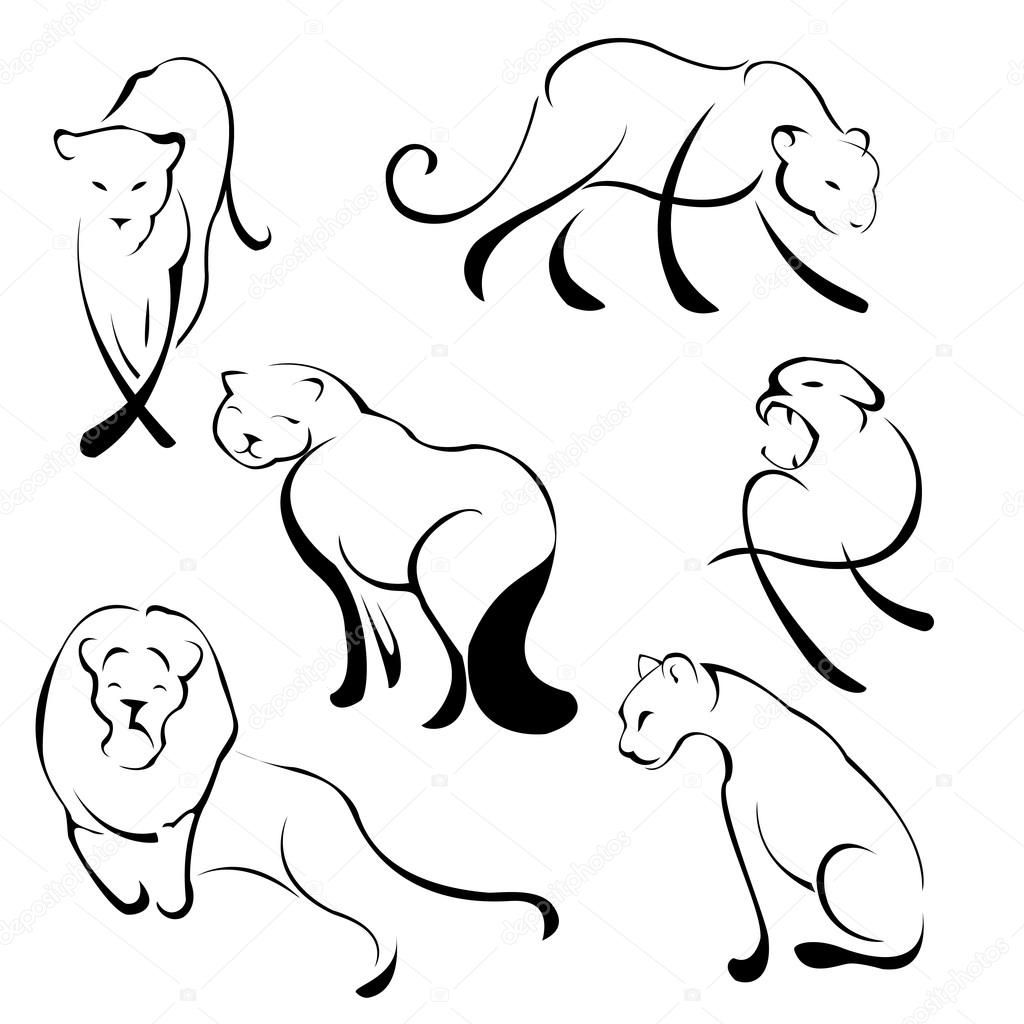 Simple Leopard Drawing Free Download Best Simple Leopard Drawing