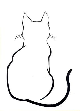 280x391 Cat Line Art This Is Super Cool The Simple Line Art Of This Cat