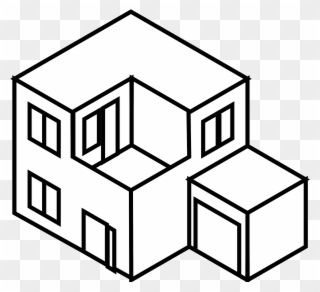320x292 Drawing Line Art House Architecture Building