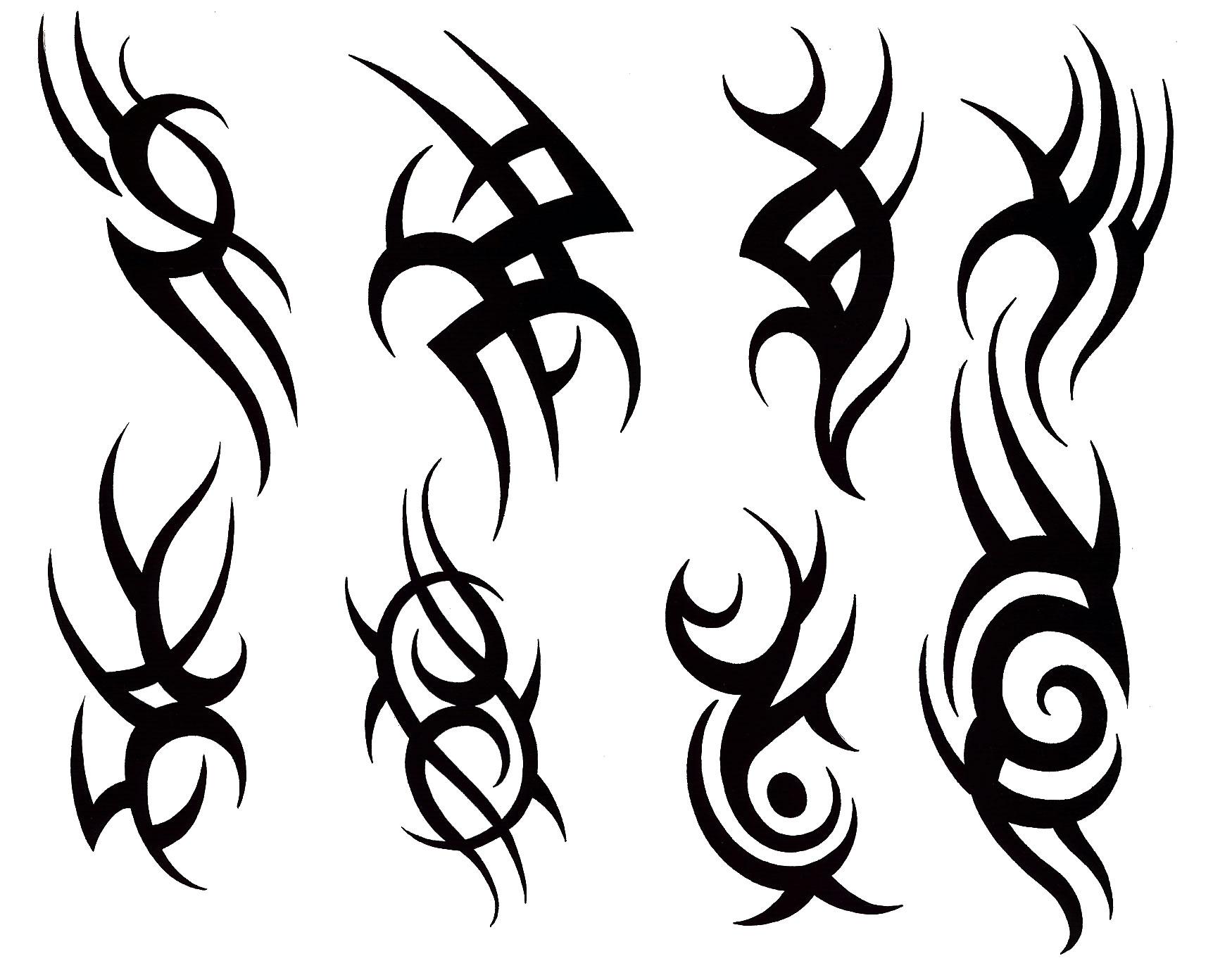 Simple Line Drawing Tattoos