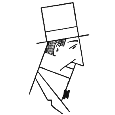 400x400 Easy To Draw Man With Top Hat Step