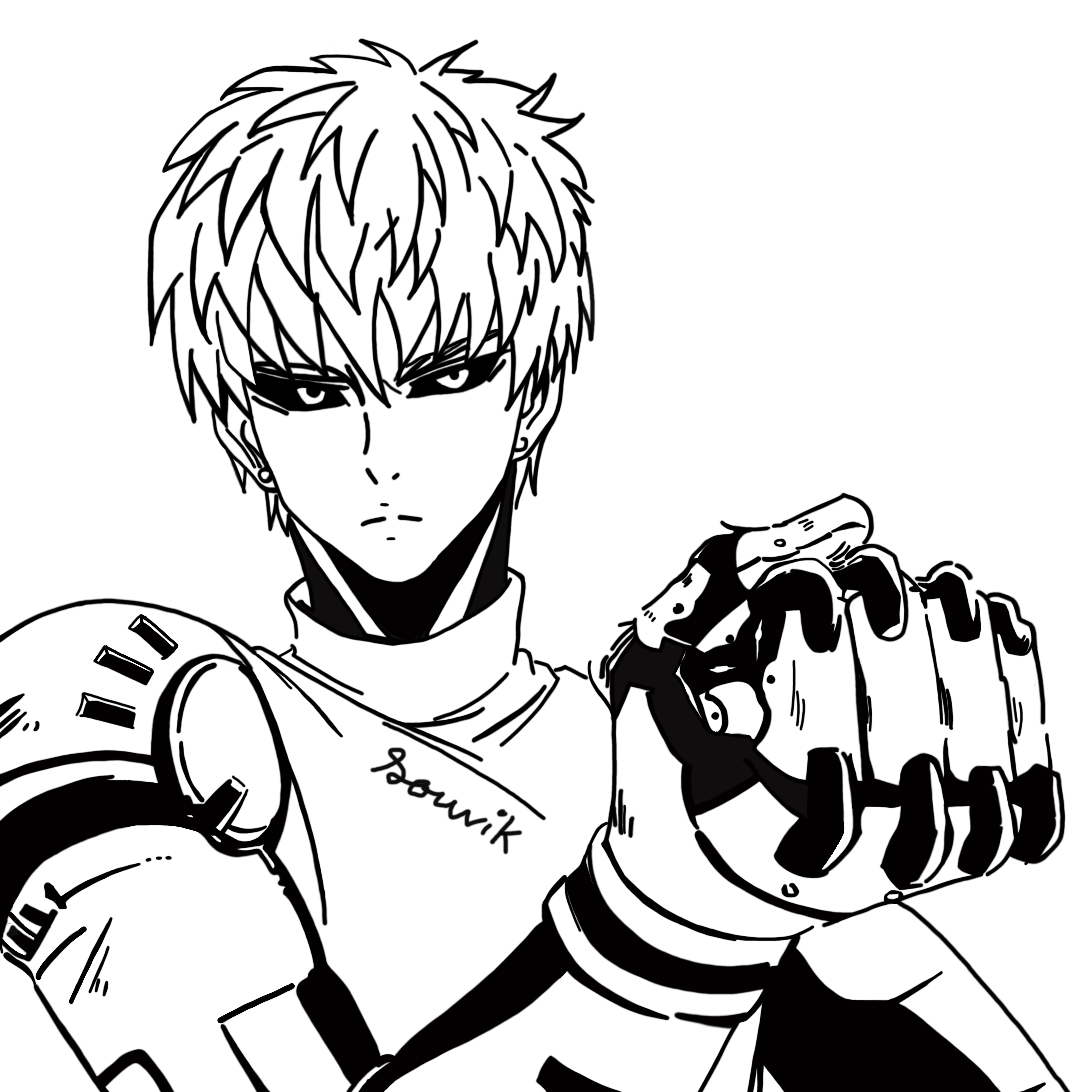 4800x4800 Genos Drawing Simple For Free Download