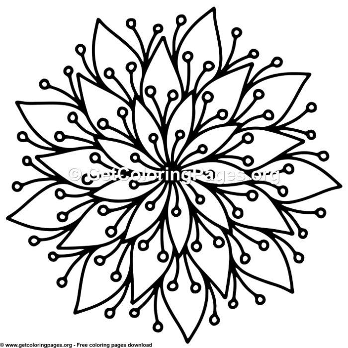 Simple Mandala Drawing