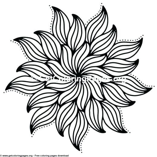 520x520 mandala coloring online simple mandala coloring pages mandala