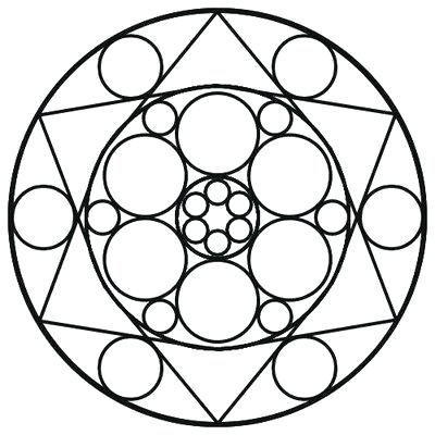 It's just an image of Inventive Free Printable Mandalas for Beginners