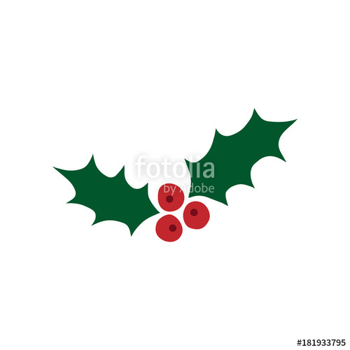 500x500 christmas mistletoe vector illustration hand drawn mistletoe
