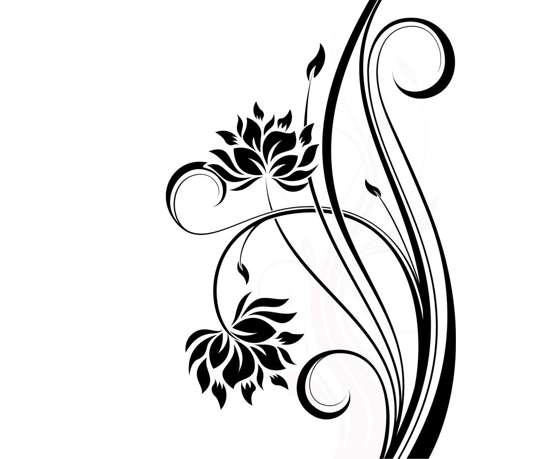1131x931 simple floral designs patterns simple floral patterns to draw