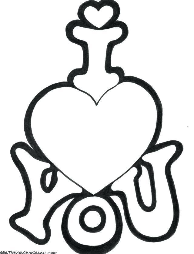 640x838 Love U Drawings