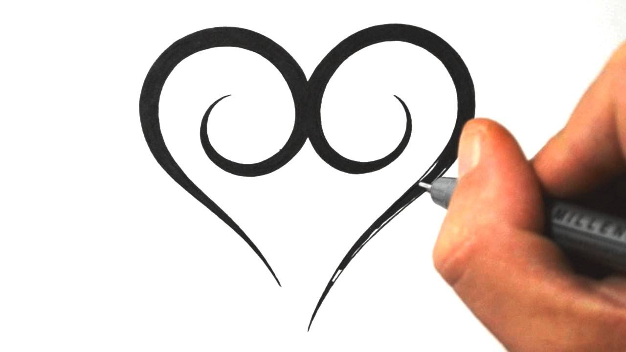 1280x720 Cute Easy To Draw Heart Tattoos Ideas And Designs