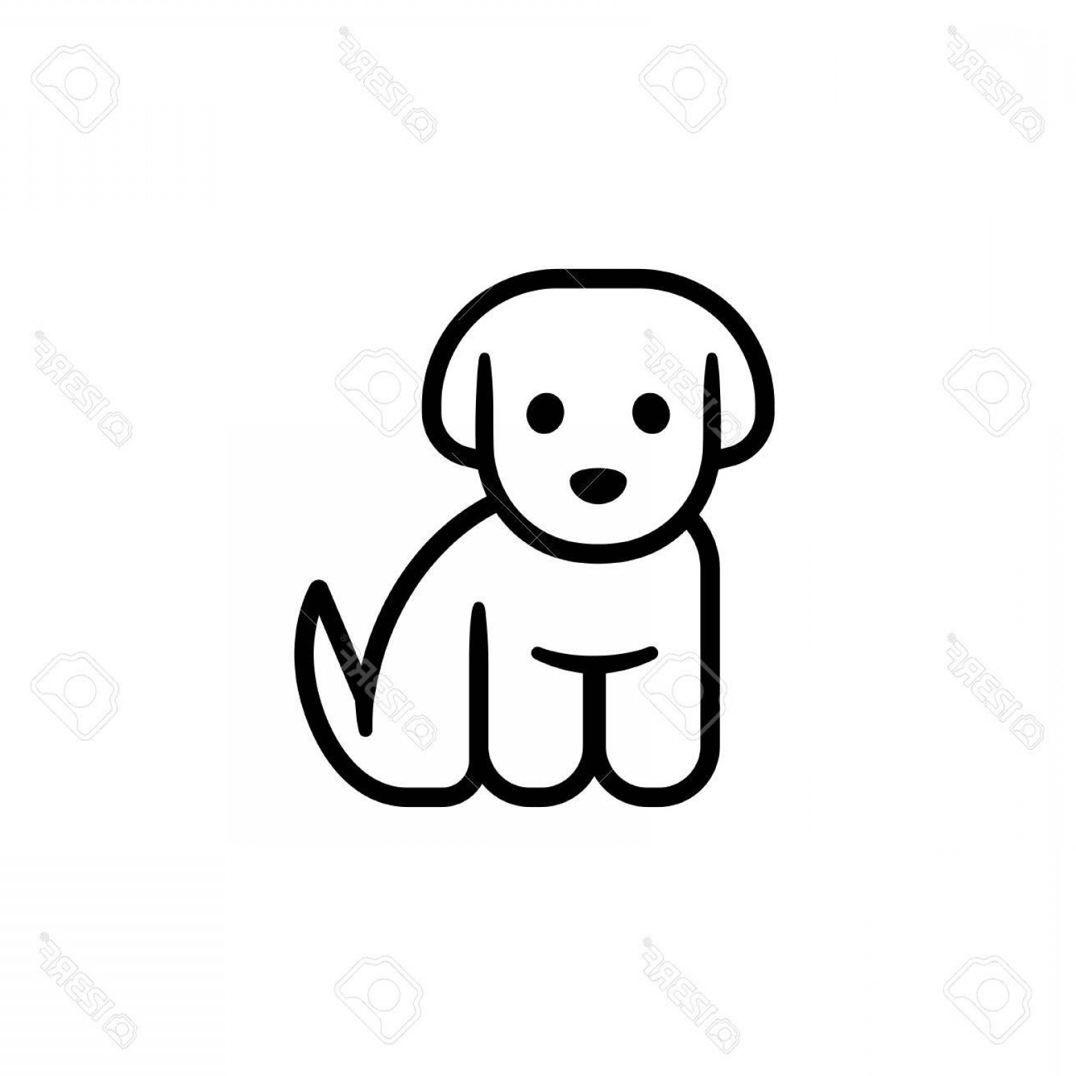 Simple Puppy Drawing | Free download on ClipArtMag