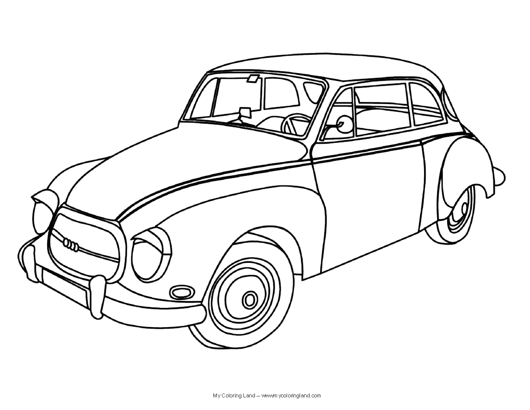 Simple Race Car Drawing | Free download best Simple Race Car