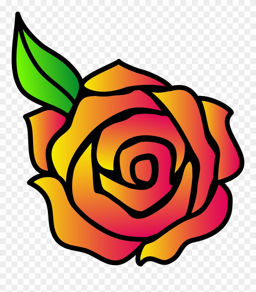 880x1005 Scarce Pics Of Cartoon Roses Free Download Clip Art