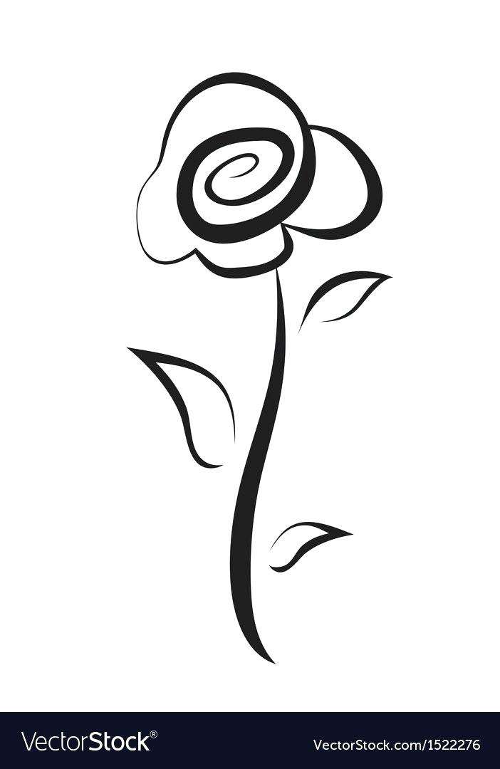 702x1080 Drawing Flower Rose Image Titled Draw A Flower Step Simple Rose