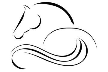 360x240 horse logo vector horse tattoo horse logo, horse drawings, horses