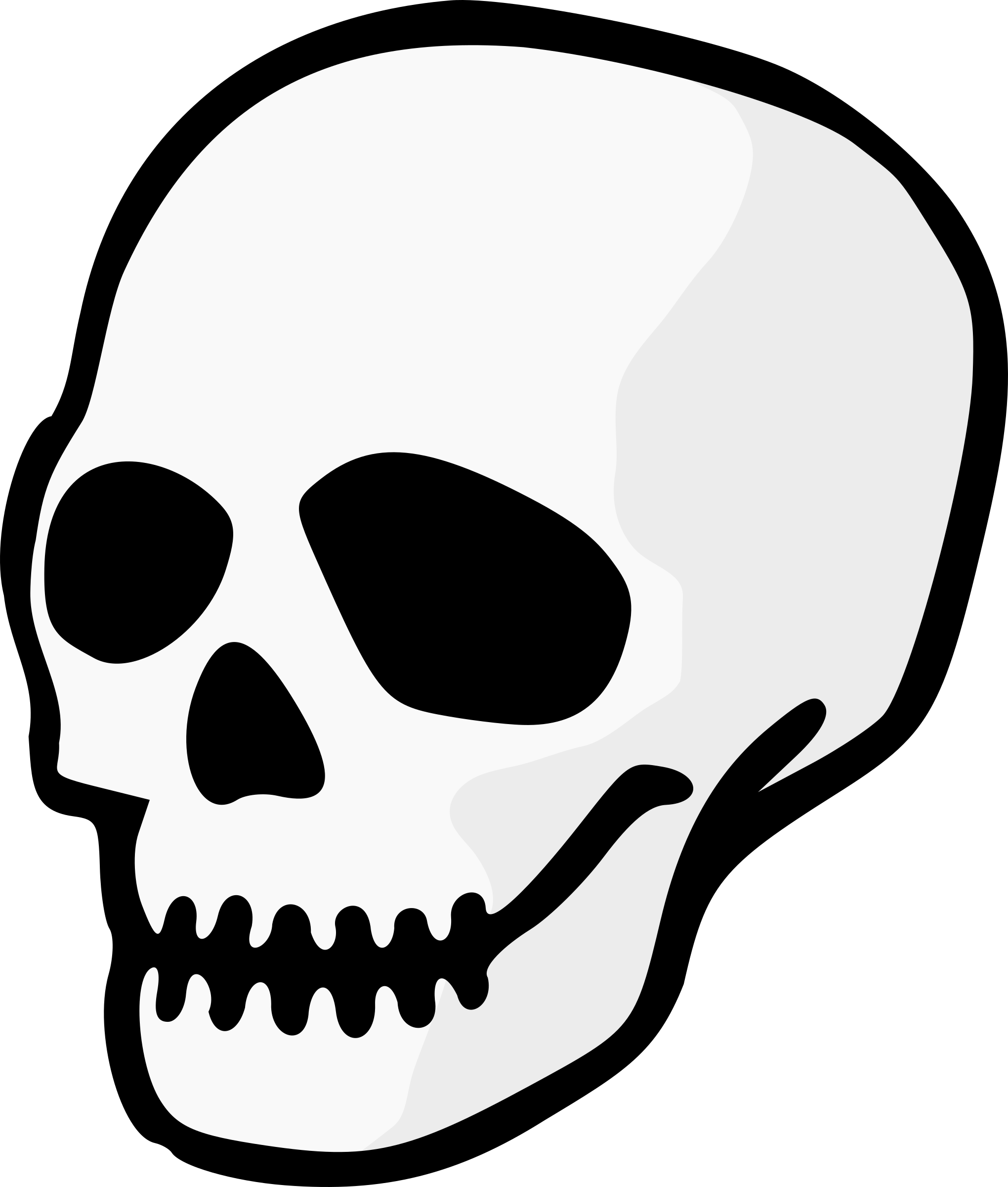 2040x2400 Collection Of Free Simple Drawing Skull Download On Ui Ex