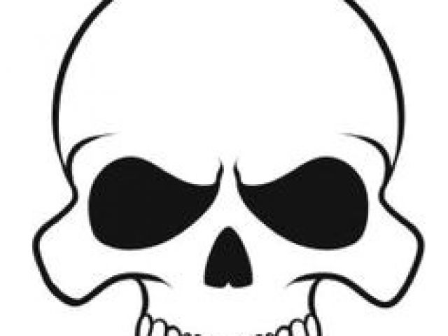 640x480 Drawing Of Skulls Easy Simple Cute Skull Drawing Google Search