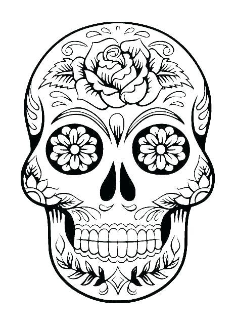 465x640 Sugar Skull Design Template Simple Google Tattoo Patterns