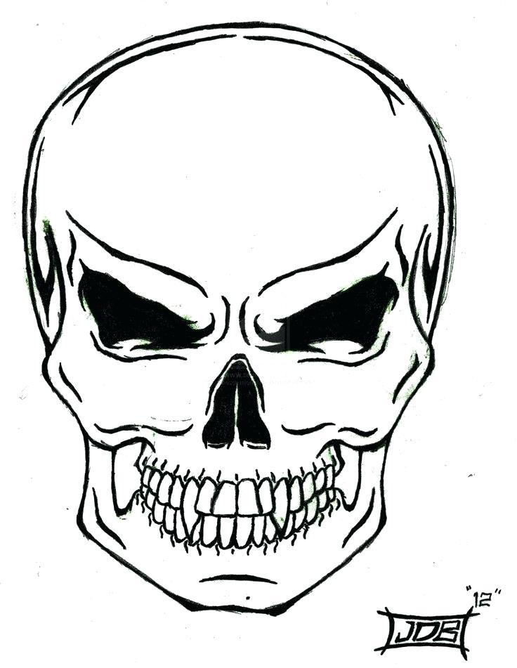 736x951 Simple Skulls