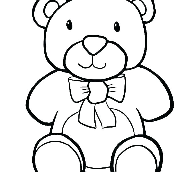 678x600 Drawing Teddy Bear Face Teddy Bear Head Outline Images Pictures