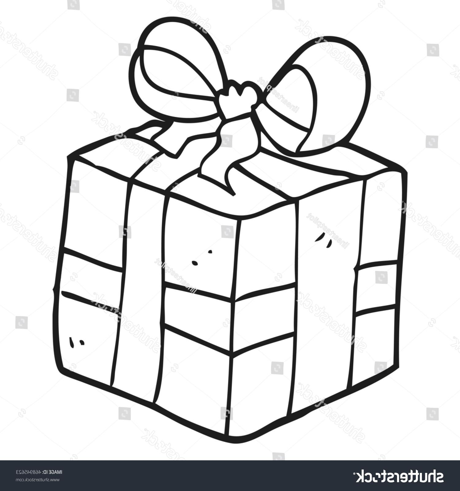 1500x1600 Ghost Of Christmas Present Drawing Simple Tree With Line Gift