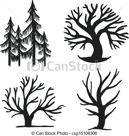 447x470 Simple Trees Yellow Simple Trees Yellow Simple Tree Image
