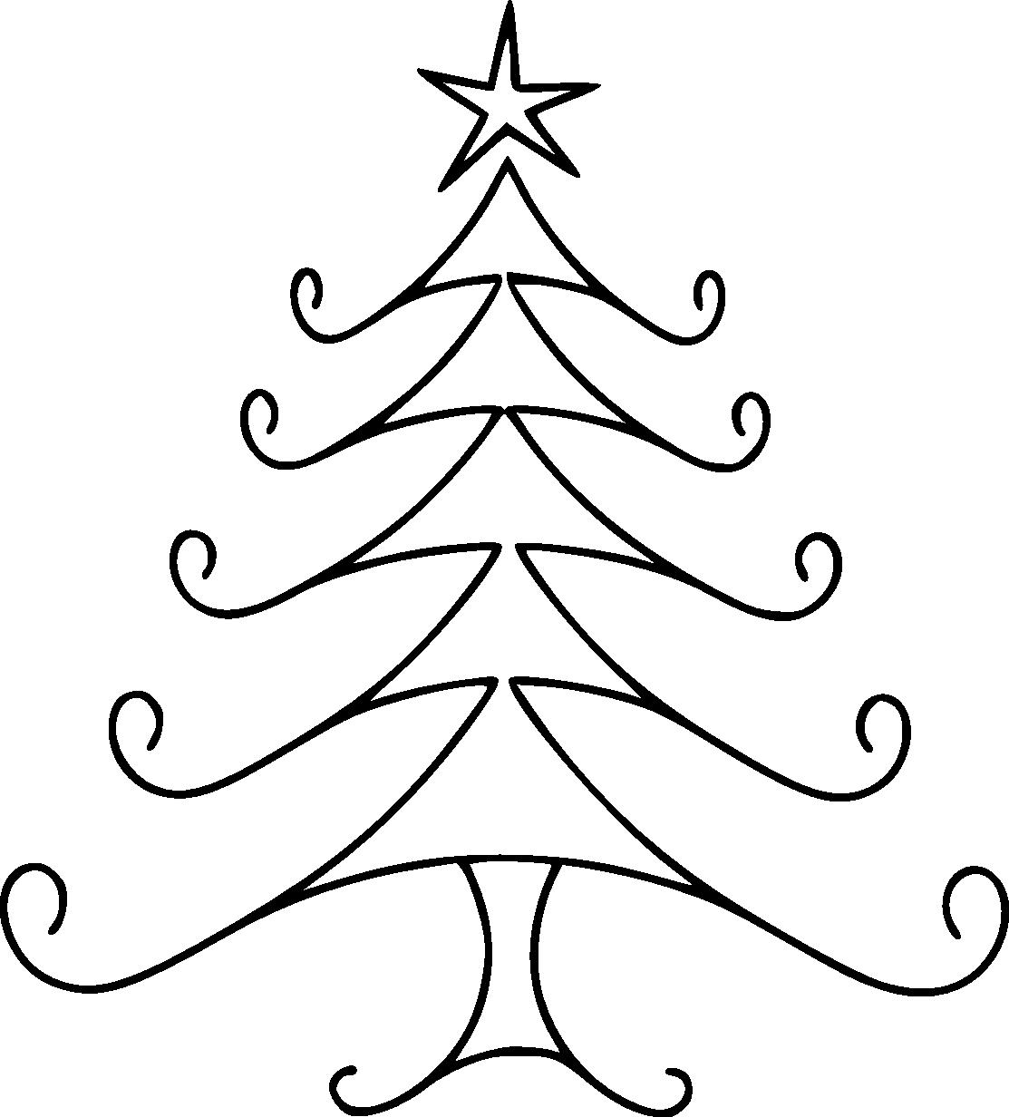 1113x1232 Christmas Line Drawing