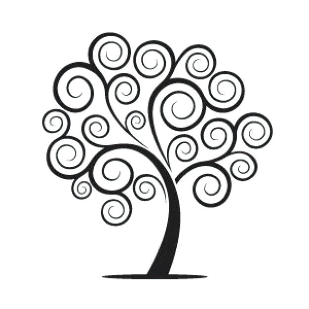 626x626 Simple Family Tree Drawing
