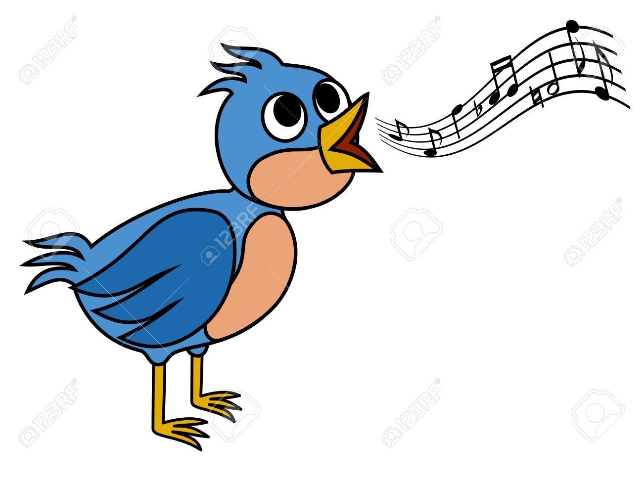 1300x975 singing birds stock illustrations bird singing