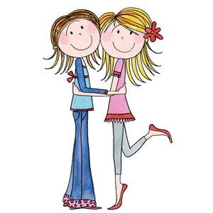 300x300 sisters sharing clip art sisters brother, sister love, sister
