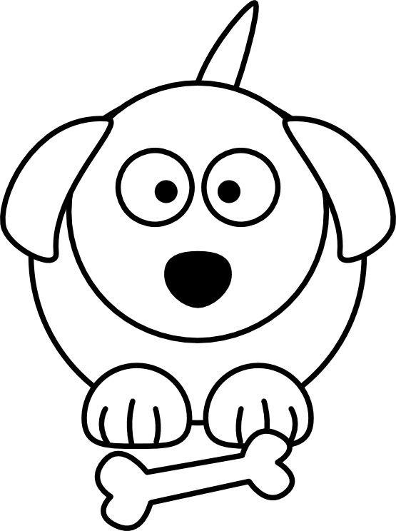 555x744 how to draw a cartoon dog sitting down beautiful dog collar