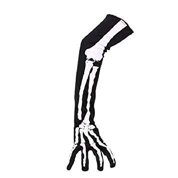 355x355 luoem skeleton gloves halloween skeleton gloves long arm full