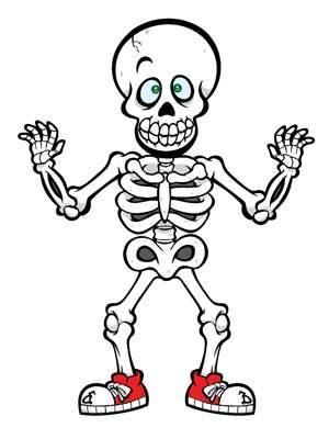 300x400 cute halloween skeleton clip art drawing art of cute halloween