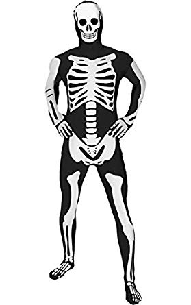 279x445 Morphsuits Adults Glow In The Dark Skeleton