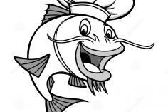 236x157 Free Catfish Drawing Step