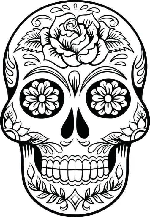 505x730 simple sugar skulls simple sugar skull makeup simple sugar skull