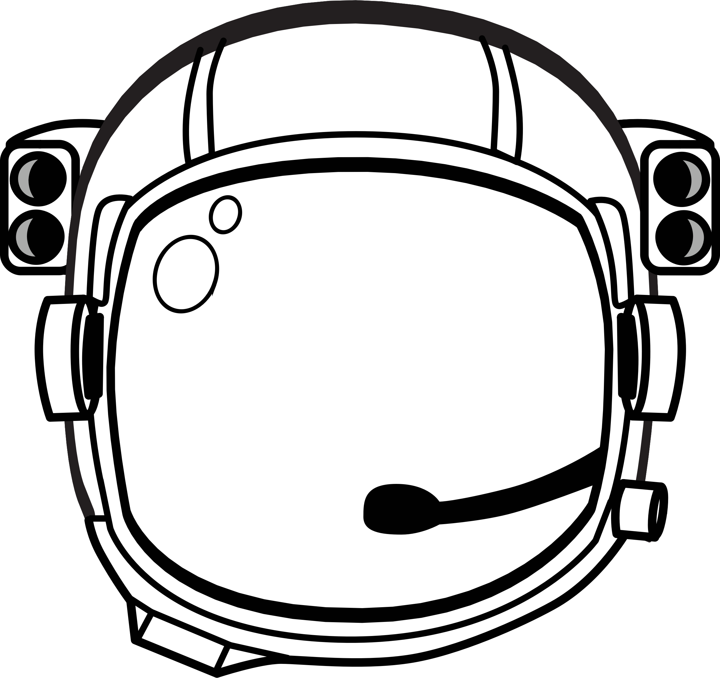 2400x2260 Collection Of Free Astronaut Drawing Skeleton Download On Ui Ex