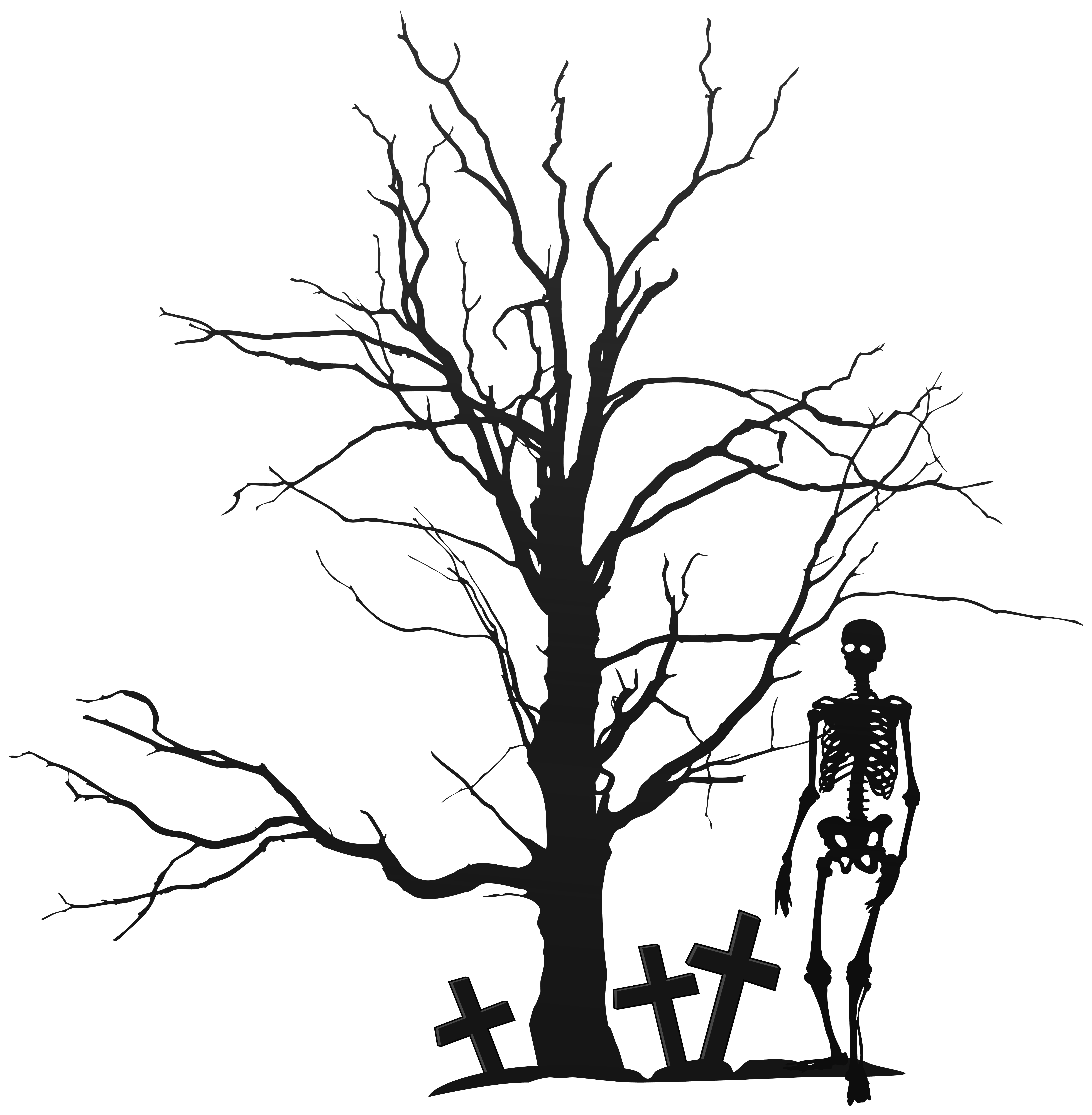 6106x6238 Skeletons Drawing Minimalist Transparent Png Clipart Free