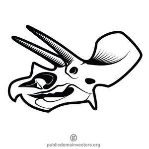 300x300 Dinosaur Skeleton Clip Art Free