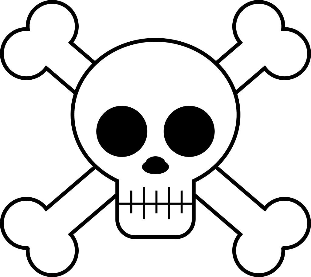 1024x911 Cartoon Skull Cliparts Free Download Clip Art Drawing