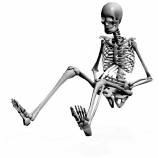 320x320 Hd Funny Skeleton Png Transparent Background