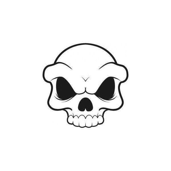 Skull Drawing Cartoon