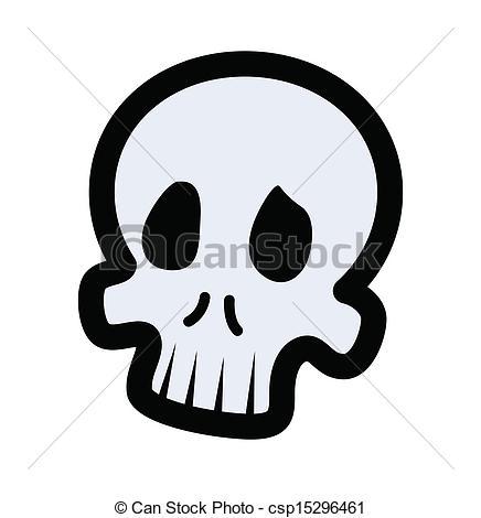 436x470 Cartoon Skull Drawing Art Of Cartoon Funny Skull Face Vector