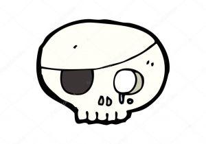 300x210 Drawing A Cartoon Skull Line Drawing Cartoon Funny Skull Stock