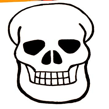 355x355 How To Draw A Cartoon Skull Appstore For Android