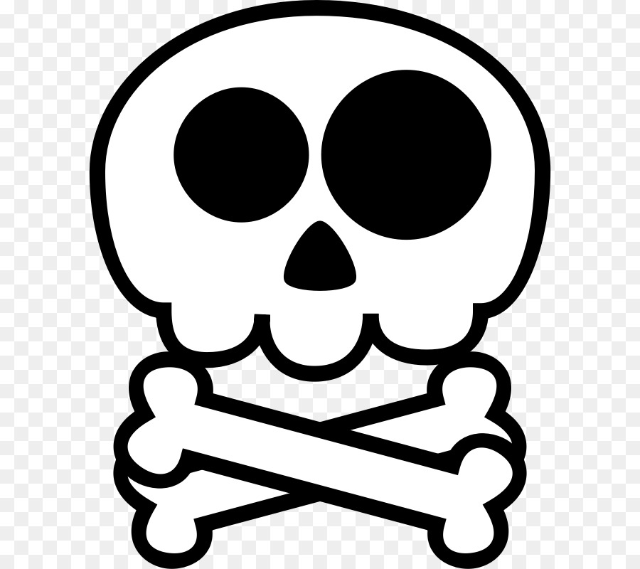 900x800 Skull, Drawing, Cartoon, Transparent Png Image Clipart Free Download